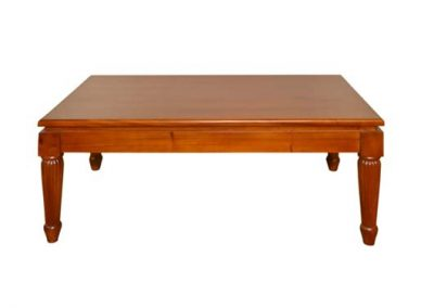 Archi coffee table 120x70cm , pictured finished in walnut stain
