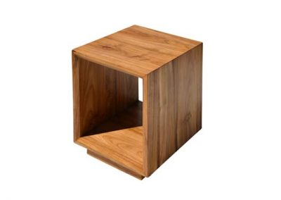 Floating side table 45x45x50cm