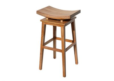 Angie stool 40x35x70cm , white wash