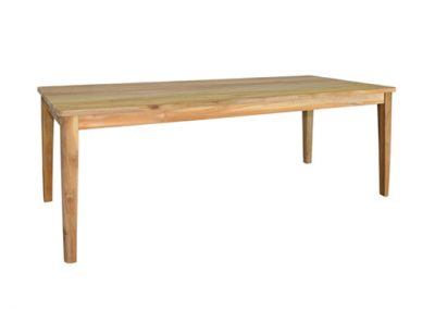 Cicada outdoor dining table 290x100cm
