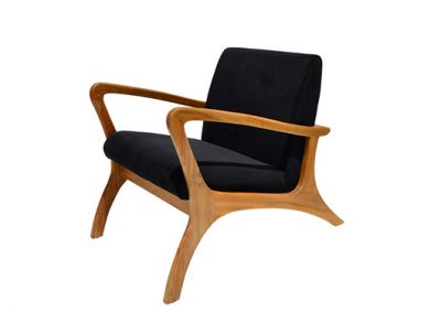 DANISH-RELAX-CHAIR-SUEDE-BLACK