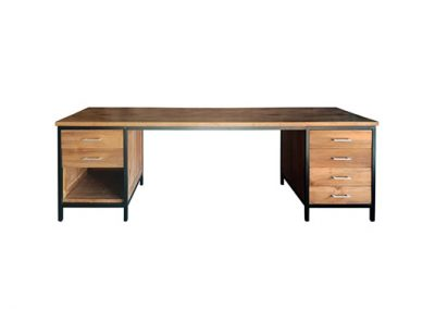 Industrial desk large but knockdown 260x70x76cm