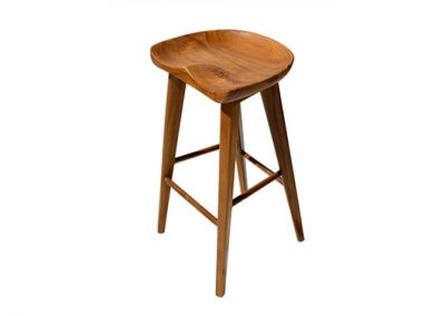 Oslo retro danish stool 45x40x68cm