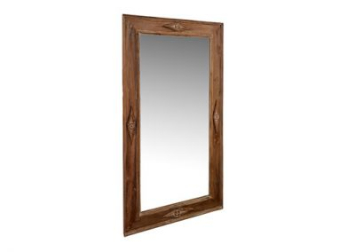 Regency mirror with carvings , 160x90cm