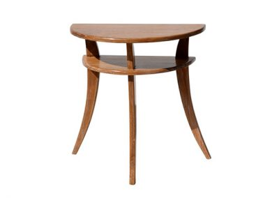 Samrong curved side table 80x40x75cm