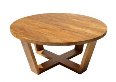 Boston round coffee table 80x80cm