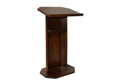 Tropic-pulpit-stand-medium-stain-