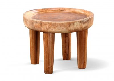 Suar round side table 60x60x45cm