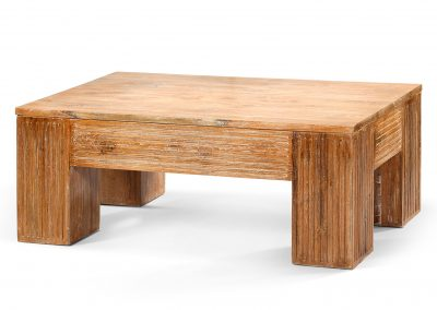 Sumiko grooved coffee table 120x70X45cm
