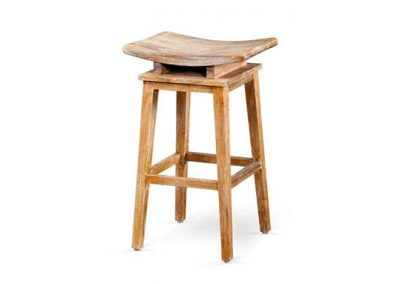 Angie stool 40x35x70cm White Wash