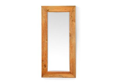 Plain mirror beveled edge 40x70cm