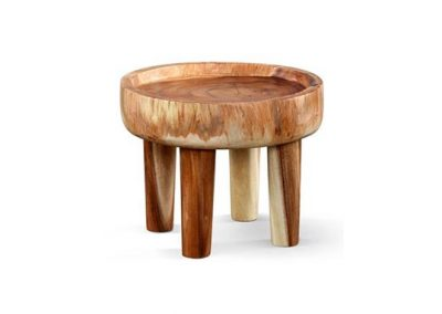 Suar round side table 45x45x35cm