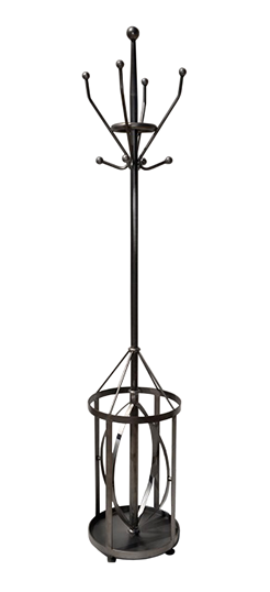 Industrial hat and umbrella stand 40x40x190cm