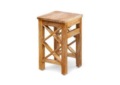 Madu side table mini 30x30x50cm White -wash