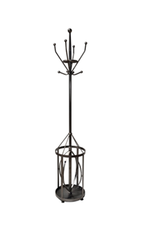Hat rack and umbrella stand 40x40x190cm