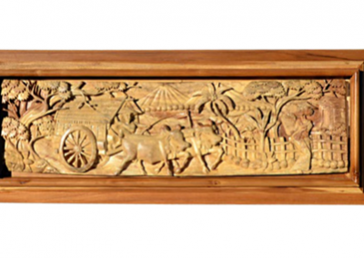 TIMBER CARVED PICTURE